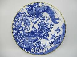 Royal Crown Derby Blue Aves Dinner Plate 10 1/2 -1004e