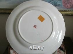 Royal Crown Derby England Imari Pattern 3615 Set Of 6 Dinner Plate 10