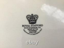 Royal Stafford Dinner Plates (11) Asiatic Pheasant Light Blue Lot 8 Excellent