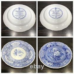 SPODE BLUE ROOM 10 3/8 DINNER PLATE COLLECTION SET OF 6 Made In England