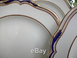 SPODE SUTHERLAND #R8920 (c. 1946+) DINNER PLATE (s)- FANTASTIC! RARE! MINT! GILT