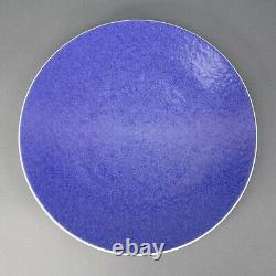 Sasaki Colorstone Sapphire Blue Massimo Vignelli Japan Dinner Plates Set Of 4
