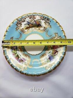 Set 15 Copeland Spode Bird Chelsea Service Plates & Tazza