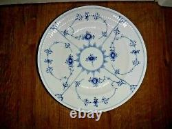 Set Of 4 Royal Copenhagen Half Lace Fluted 10 Dinner Plates 175