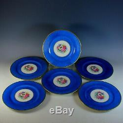 Set of 6 Limoges Bernardaud & Co Dinner Plates 10 3/4