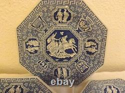 Spode Blue Room Greek Sutherland Collection Octagonal Dinner Plate 6