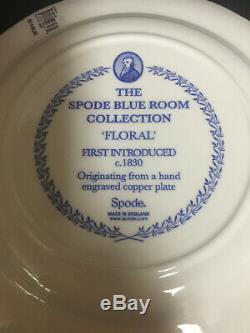 Spode China Blue Room Collection Dinner Plates 6 pc set