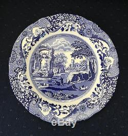 Spode ITALIAN 10.5 Dinner Plates Set of 4 Made In ENGLAND Brand New EXCELLENT