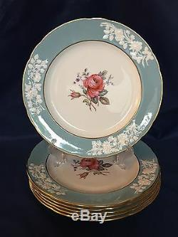 Spode OLD COLONY ROSE Y6447 Dinner Plates Set of 6