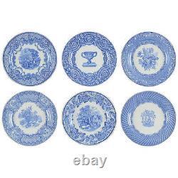 Spode Victorian Collection Set of 6 Motifs Dinner Plates 2126212
