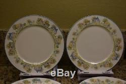 The Lenox Village Collection 8 Dinner Plates Rare and hard to Find