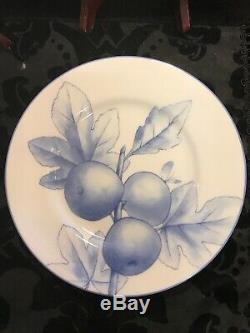 Tiffany & Co Tiffany Nature Retired 8 Salad Dessert Plates Set Of 4