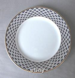 Tiffany Manhattan Blue Dinner Plate