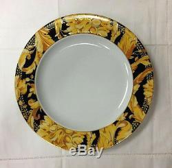 Versace Vanity Dinner Plate 10 1/2 Porcelain Made In Germany Rosenthal New