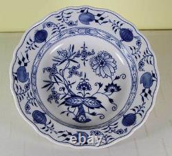 Vintage Meissen Blue Onion Soup Plate