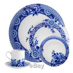 Vista Alegre Porcelain Blue Ming 5 Piece Dinnerware Set