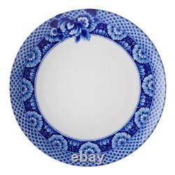 Vista Alegre Porcelain Blue Ming Dinner Plate Set of 4