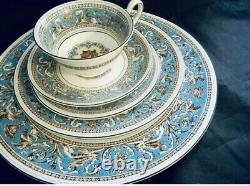 Wedgwood FLORENTINE TURQUOISE Five Piece Place Setting