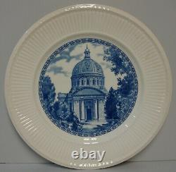 Wedgwood U S NAVAL ACADEMY (BLUE) Dinner Plate CHAPEL More Items Available