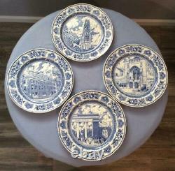Wedgwood Yale University set of TWELVE 10 1/2 dinner plates ca. 1931