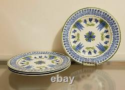 Williams Sonoma Aerin Ardsley & Scalloped Plate Setting Set for 4 NEW