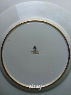 Wow Price! Set Of 4 Rare Wedgwood Columbia Powder Blue 10 7/8 Dinner Plates